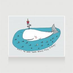 Boris the Whale No.1