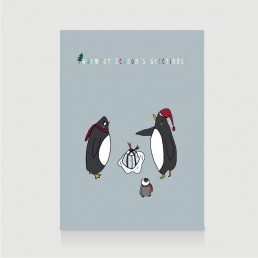 Season Greetings Penguin