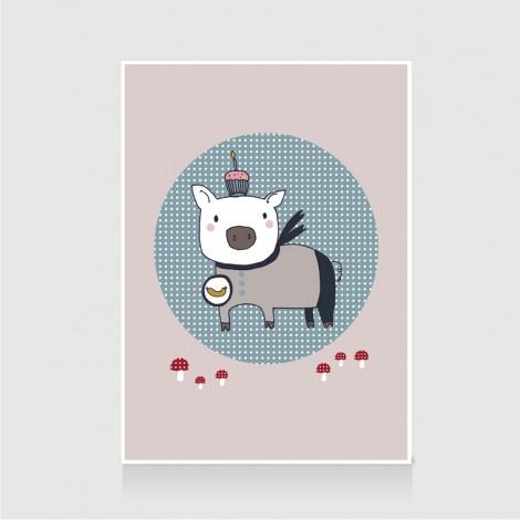 Birthday Piglet