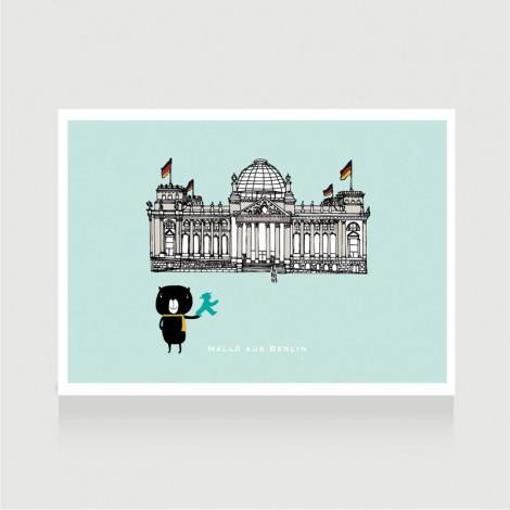 Hallo aus Berlin - Reichstag 2